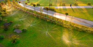 handlinhandling a sprinkler systemg a sprinkler system